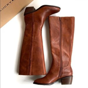 NEW Lucky Brand leather boots
